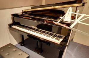 グランドピアノでマンツーマン